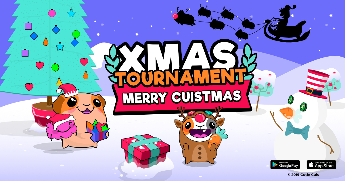 Merry Cuistmas! 🎄 New tournament in Cutie Cuis