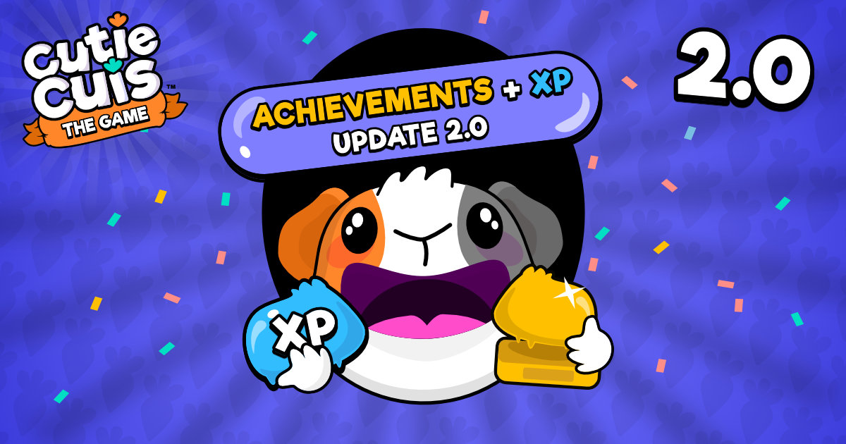 Level experience and achievements 🏆 Update 2.0.