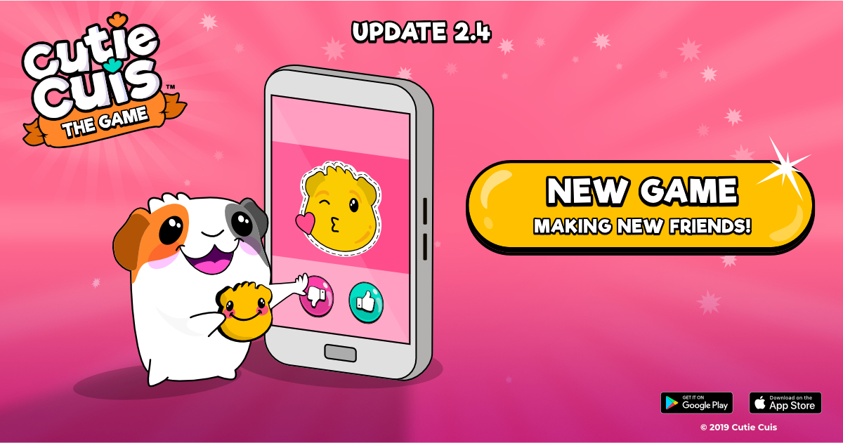 Cuinder, the emotional game! 😘 Update 2.4.