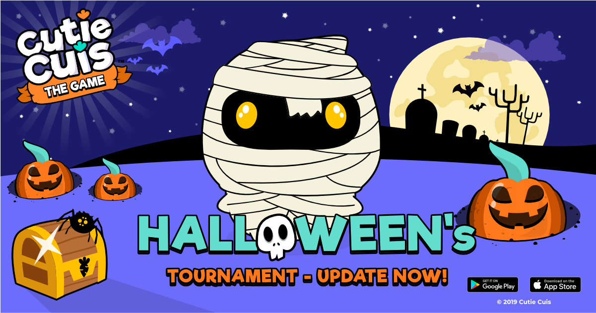 You have a terrifying update 👻🎃