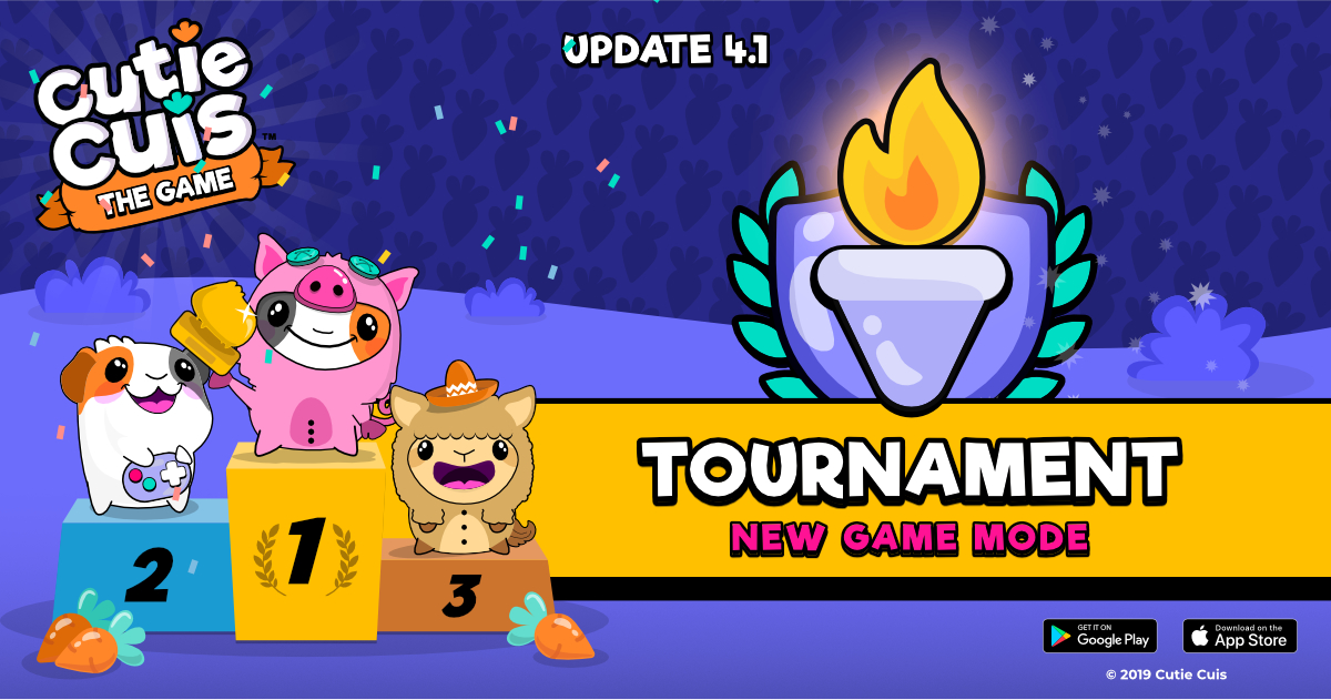 The Tournaments arrive 🏆 Update 4.0.