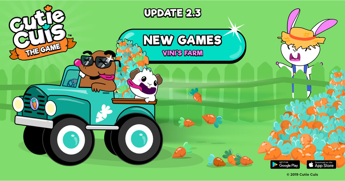 Vini's Farm  👨‍🌾 🥕New game available! Update 2.3.